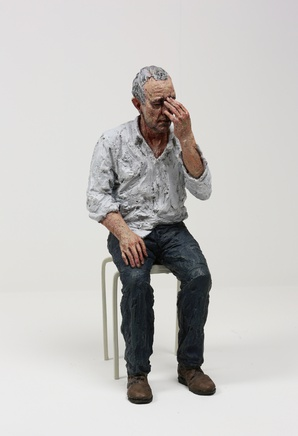 <span class=%22title%22>Untitled (Man on a Stool)<span class=%22title_comma%22>, </span></span><span class=%22year%22>2010</span>