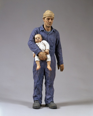 <em>Man and Child</em>, 2001