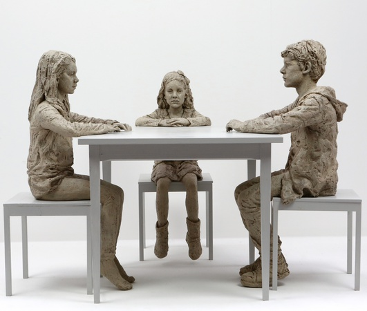 <span class=&#34;title&#34;><em>The Dinner Table (monotone)</em>, 2015</span>
