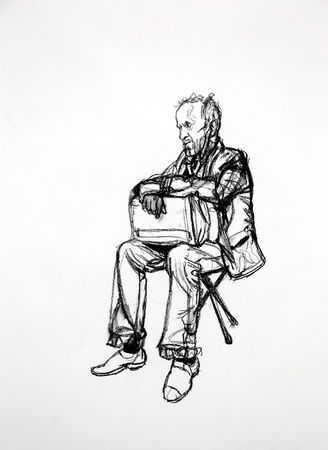 <span class=&#34;title&#34;><em>Seated Figure 2</em>, 2015</span>