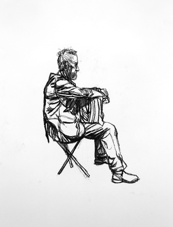 <span class=&#34;title&#34;><em>Seated Figure 3</em>, 2015</span>