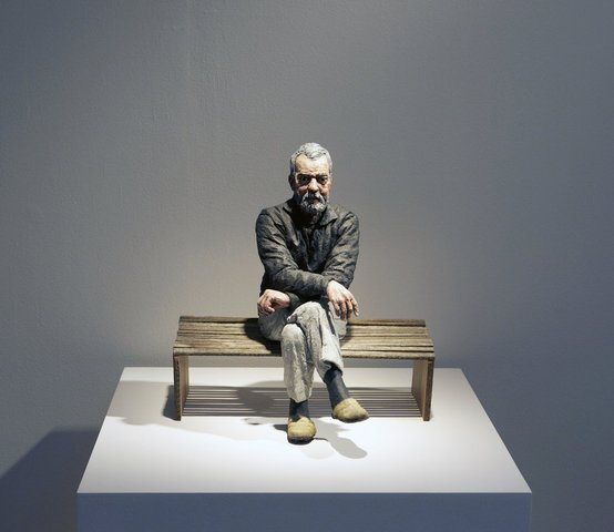 Maquette for John (Seated)