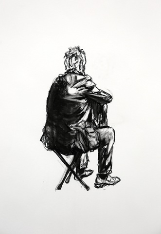 Seated Figure 4, 2015
