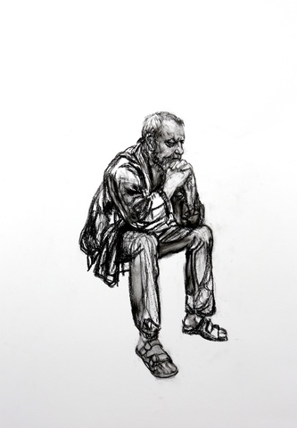 Seated Man 1