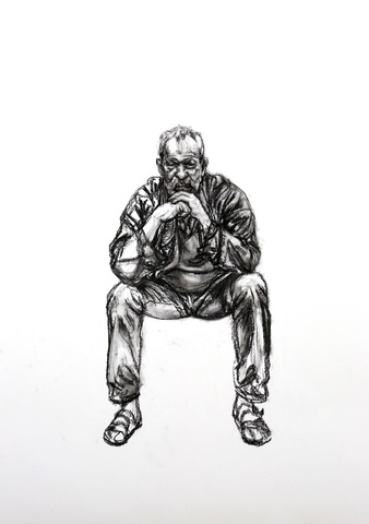 Seated Man 2, 2016