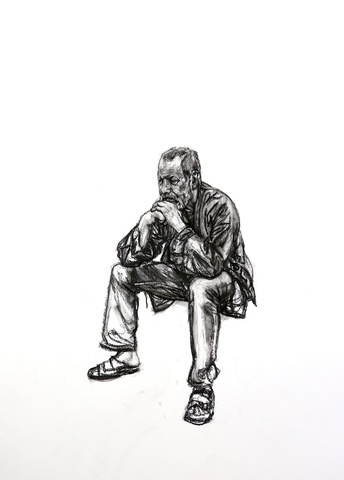 Seated Man 3