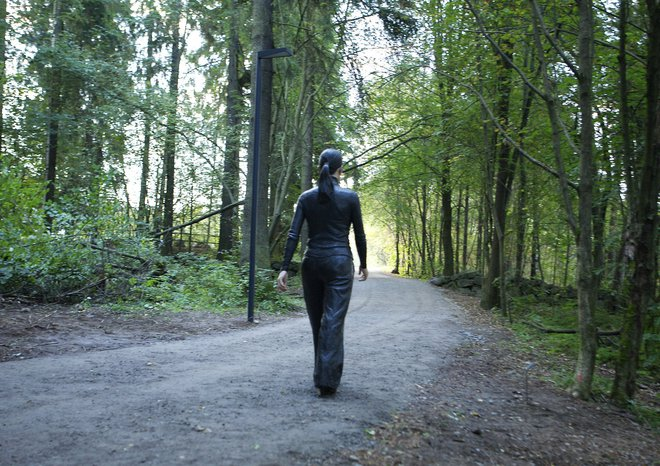 Walking Woman