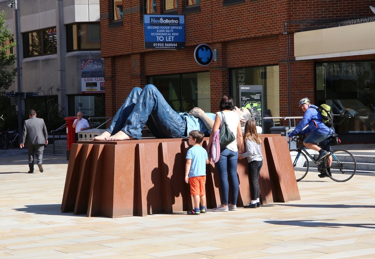"""Catafalque"" in Jubilee Square"